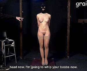 Stringent teacher tits whipped