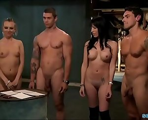 Playboy chicks fucked hard in jail cell