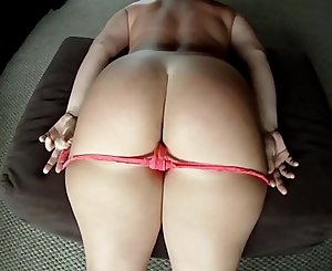 Big Booty PAWG Vanilla Cake Takes Off Her Panties for Dick