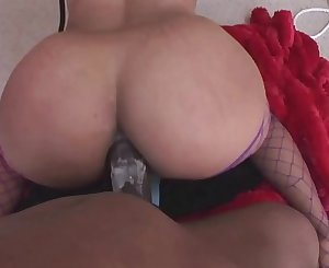 Hardcore Anal Fuck Session for the Poor Slave Chick who Wants to go Home