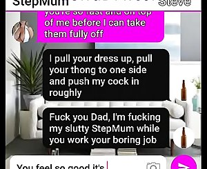 Sexy MILF StepMum get seduced by her naughty Son roleplay