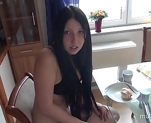 Brother and sister morning creampie sex on mulemax.com