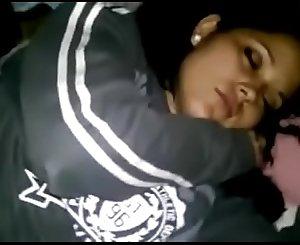 Mi prima Sonia dormida