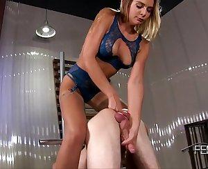 [FemdomEmpire.com] Amazon Goddess Blair Williams — Milked & Creampied [Female Domination,Strap-on,Femdom Handjob,Ballbusting,1080p]