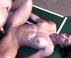 Strip wrestling match   fucking