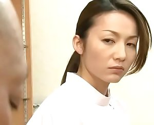Japanese massagist wifey pays the husband's debt