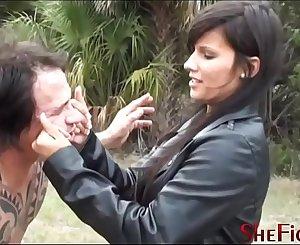 Bare Fist, Broken Teeth - Cruel Mikaela and Deadly Dangerous Kicks