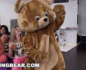 DANCING BEAR - Wild Bitches Have A CFNM Party In The Back Of Hair Salon
