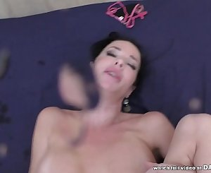 Veronica Avluv squirts all over a shaft