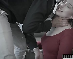 PURE TABOO Shy Teen's Seeks Stranger to Gasp Her Out