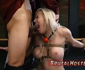 Brutal Sadism & Masochism and sock gag bondage Don't worry slut, there just so