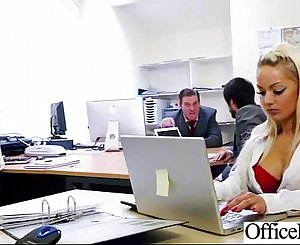 Hardcore Sex In Office With Big Round Hooters Horny Woman (lou lou) vid-20
