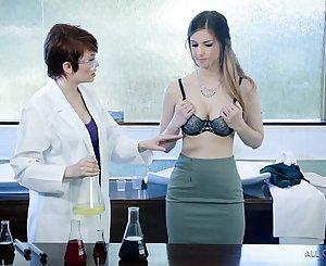Lesbian researchers try the new formula - Bree Daniels, Stella Cox