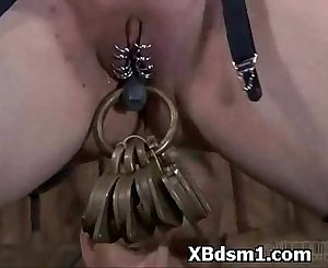Wild Naughty Gal In Extreme BDSM Bondage